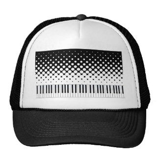 Keyboard Grunge Cap