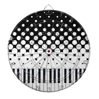 Keyboard Grunge Dartboard