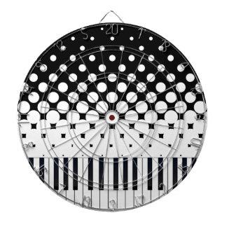 Keyboard Grunge Dartboards
