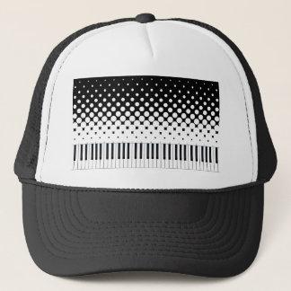 Keyboard Grunge Trucker Hat