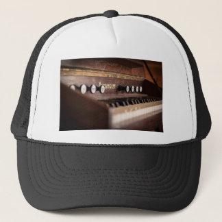 Keyboard Instrument Music Old Antique Poland Trucker Hat