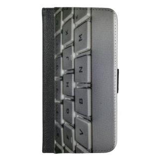keyboard iPhone 6/6s plus wallet case
