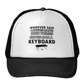keyboard musical instrument cap