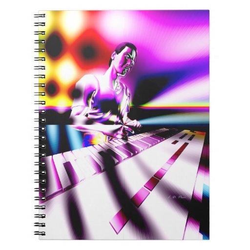 Keyboard Musician FX Spiral Note Book
