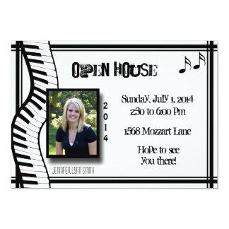 Keyboard Open House Invitation