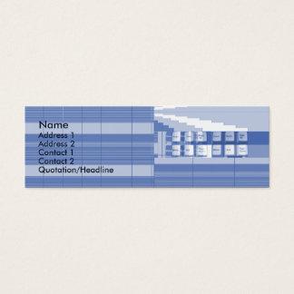 Keyboard Part - Skinny Mini Business Card