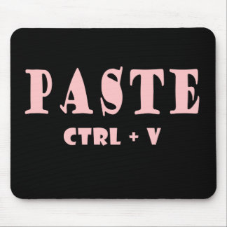 Keyboard shortcut for paste mouse pad