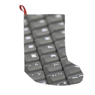 Keyboard Small Christmas Stocking