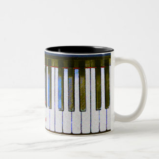 KEYBOARD Two-Tone COFFEE MUG