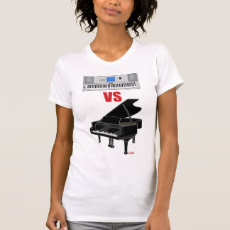 Keyboard VS Piano (Women) T-Shirt