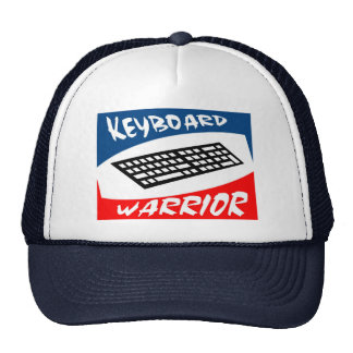 keyboard warrior cap