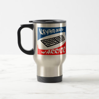 Keyboard Warrior Travel Mug