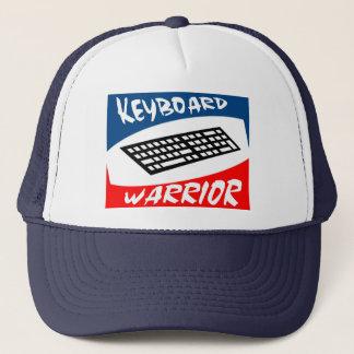 keyboard warrior trucker hat
