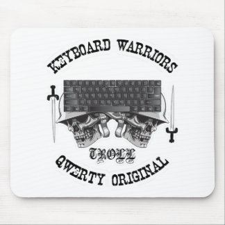 Keyboard Warriors – TROLL Mouse Pad