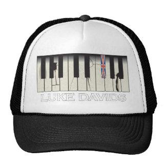 Keyboard with Luke Davids Cap