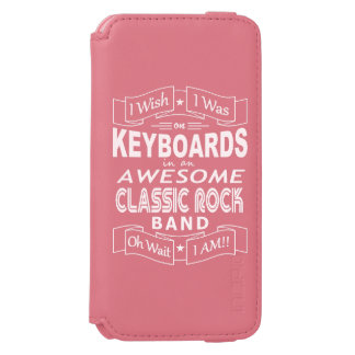 KEYBOARDS awesome classic rock band (wht) Incipio Watson™ iPhone 6 Wallet Case
