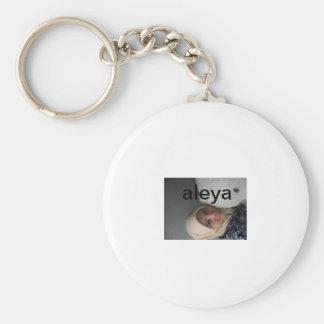 keycen yaya basic round button key ring