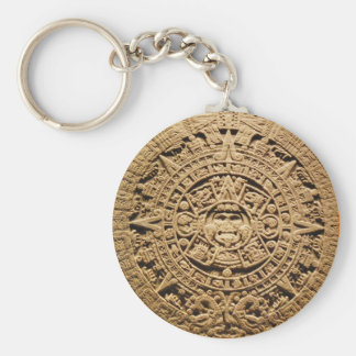 Keychain | Aztec Sunstone