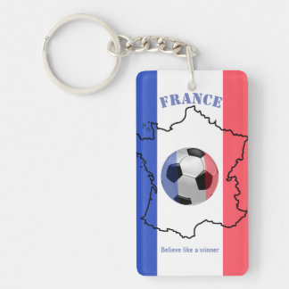 keychain believe like a winner france