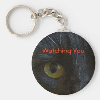Keychain Black Cat Eyes