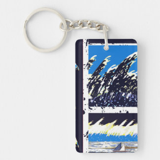 Keychain Boating Ocean Unique
