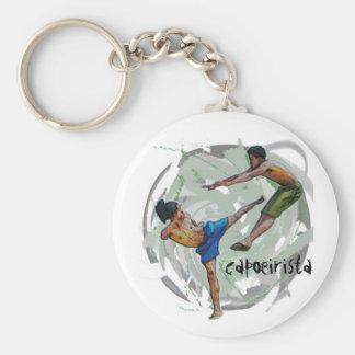 keychain, capoeirista key ring