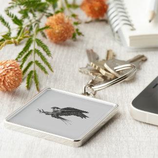 Keychain for Peregrine Hawk Fans