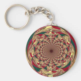 Keychain Gold Lace Print ZIZZAGO