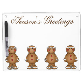 Keychain holder and Pen (horizontal) Dry Erase Boards