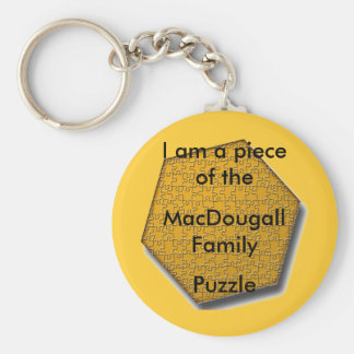 Keychain - I am a piece of the ___ Family puzzle