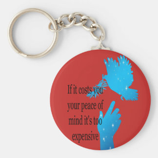 Keychain If it costs you your peace of mind