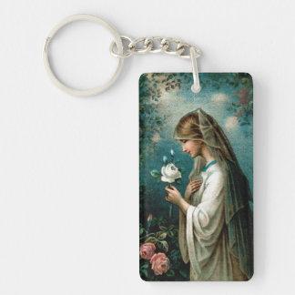 Keychain: Mystical Rose Key Ring
