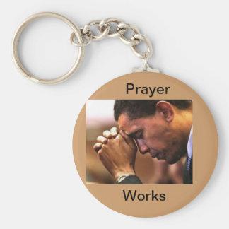 Keychain prayer, keychain President Obama praying,