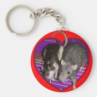 Keychain: Ratty Love Key Ring