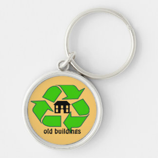 Keychain - Recycle Old Buildings