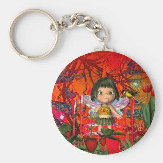 Keychain Strawberry Angel Girl Key Chains