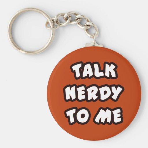 Keychain TALK NERDY