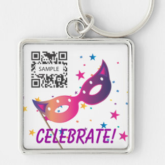 Keychain Template Celebrate
