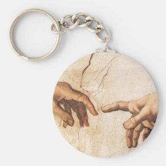 Keychain - The Creation of Adam