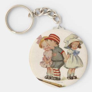 Keychain Vintage Children