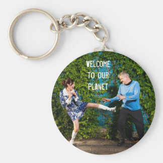 Keychain - Welcome to our Planet