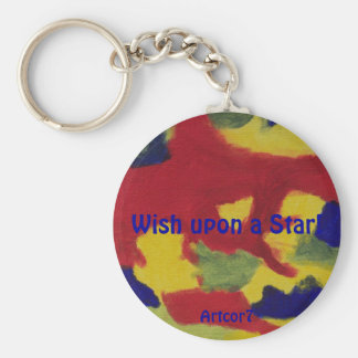 Keychain - Wish upon a Star!
