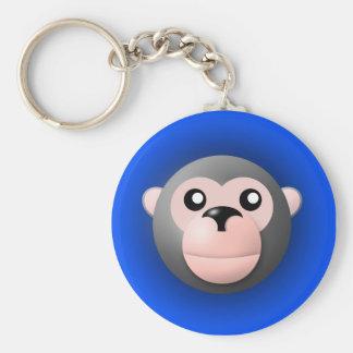 keychain with animal: monkey