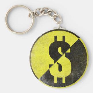 Keychain with Cool Anarcho-Capitalist Flag