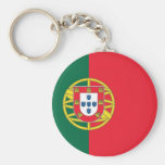 Keychain with Flag of Portugal
