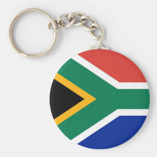 Keychain with Flag of South Africa