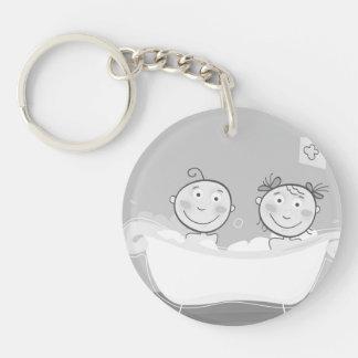 Keychain with little Kids