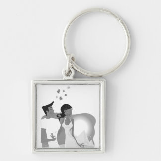 Keychain with Original drawing