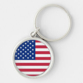 keychain with USA flag