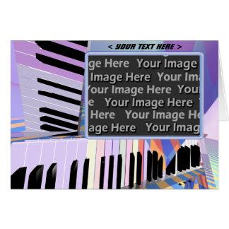 Keyed (photo frame) card